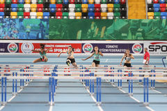 Olympic Threshold Indoor Competitions Royalty Free Stock Photo
