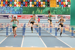 Olympic Threshold Indoor Competitions Stock Photography