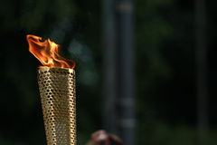 Olympic torch. From the 2012 Olympic games torch relay Royalty Free Stock Image