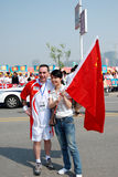 Olympic Torch Relay Stock Photography