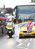 Olympic torch relay Royalty Free Stock Photos