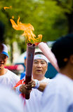Olympic Torch Relay Stock Image