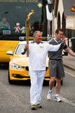 Olympic Torchbearer Stock Images