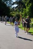 Olympic Torchbearer in Kew Gardens Stock Photo
