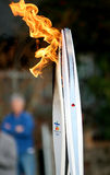 Olympic torches Stock Images