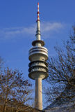 Olympic tower Munich. The Olympic tower in Munich Germany Royalty Free Stock Photos