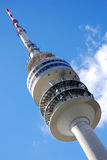 Olympic  Tower - Munich. Olympic tower, with a restaurant on the top, who is slowly turning  - Olympia Park in Munich, Place of the Olympic Games 1972, Germany Stock Photos