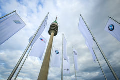 Olympic Tower in Munich Royalty Free Stock Photo