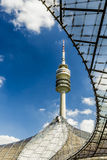 Olympic Tower at Olympic Park, Munich, Bavaria, Germany Royalty Free Stock Photos