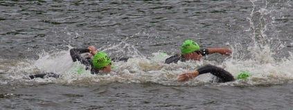 Olympic Triathlon Royalty Free Stock Photography