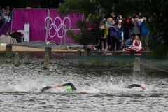 Olympic Triathlon Stock Photos