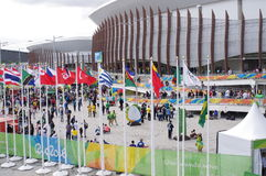 Olympic venues for Rio2016 Royalty Free Stock Photography