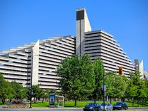 The Olympic Village of Montreal Canada Hotel Royalty Free Stock Photos