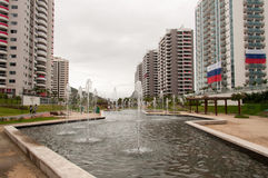 Olympic Village royalty free stock images