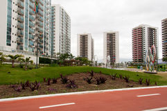 Olympic Village stock photography