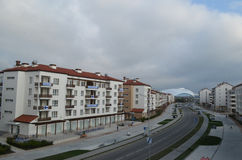 Olympic village in Sochi Stock Images