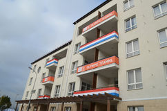 Olympic village in Sochi Royalty Free Stock Photography