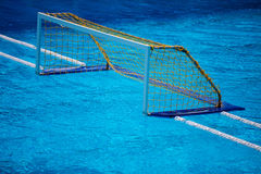 Olympic water polo goal gate Royalty Free Stock Image