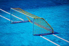 Olympic water polo goal gate Stock Image