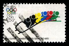 1972 Olympic Winter Games Stock Photo