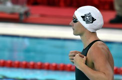 Olympic, world and European champion, World record holder swimmer Katinka HOSSZU HUN. Hong Kong, China - Oct 29, 2016.  Olympic, world and European champion Royalty Free Stock Images