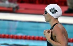 Olympic, world and European champion, World record holder swimmer Katinka HOSSZU HUN. Hong Kong, China - Oct 29, 2016.  Olympic, world and European champion Stock Image