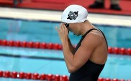 Olympic, world and European champion, World record holder swimmer Katinka HOSSZU HUN. Hong Kong, China - Oct 29, 2016.  Olympic, world and European champion Stock Photos