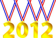 Olympic year Royalty Free Stock Image