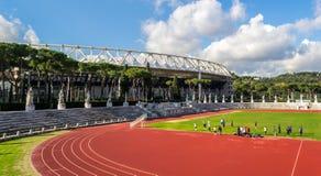 olympico罗马体育场 免版税图库摄影