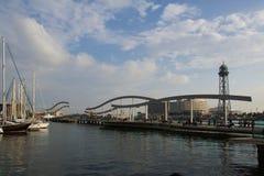 Olympico della porta di Barcellona Fotografia Stock Libera da Diritti