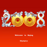 Olympics. Welcome to beijing . the olympics Stock Photo