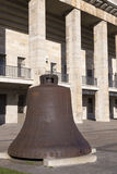 1936 Olympics. Bell for the 1936 Olympics in Berlin Stock Image