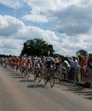 Olympics, die Straßenrennen einen Kreislauf durchmachen stockfotos