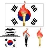 The Olympics in Korea Royalty Free Stock Photography