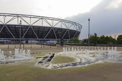 Olympics Park and Stadium Royalty Free Stock Image