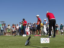 Olympics Rio 2016 - Golf Stock Photography