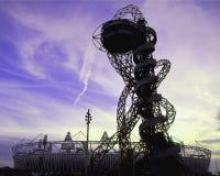 Olympics 2012 van Londen de Baan van ArcelorMittal Royalty-vrije Stock Foto