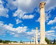 Olympieion,希腊 图库摄影