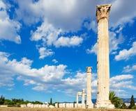 Olympieion, Греция Стоковая Фотография