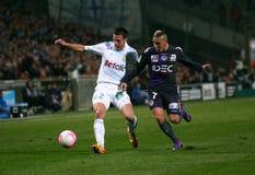 Olympique De Marseille gegen Toulouse FC Lizenzfreie Stockfotos