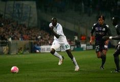 Olympique de Marseille's Alou Diarra Royalty Free Stock Image