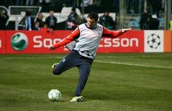 Olympique de Marseille's Andre-Pierre Gignac Stock Photos