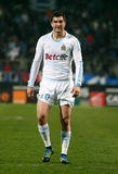 Olympique de Marseille's Andre-Pierre Gignac Royalty Free Stock Photo