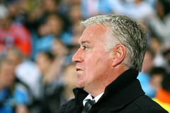 Olympique de Marseille's coach Didier Deschamps Royalty Free Stock Photo