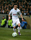 Olympique de Marseille's Mathieu Valbuena Royalty Free Stock Photo