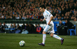 Olympique de Marseille's Mathieu Valbuena Royalty Free Stock Photography