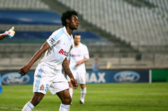 Olympique de Marseille's Nicolas Nkoulou Royalty Free Stock Photography