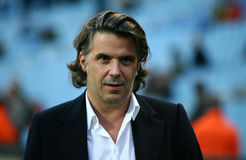 Olympique de Marseille's president Vincent Labrune Stock Photography