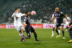 Olympique de Marseille vs Toulouse FC Royalty Free Stock Photo