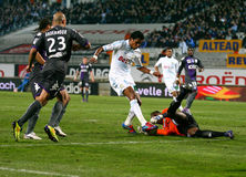 Olympique de Marseille vs Toulouse FC Royalty Free Stock Photography